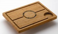 Commichef Bamboo Deluxe Spiked Carving Board 48 x 36cm