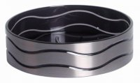 Blue Canyon Ice Soap Dish Black / Silver