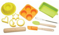 Let's Make Silicone Bakeware 11 Piece Set