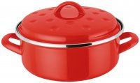 Judge Induction Round Roaster 20 x 6cm - Red