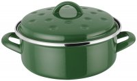 Judge Induction Round Roaster 20 x 6cm - Green