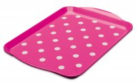 Zeal Small Dotty Tray Pink 30cm x 21cm