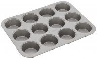 Judge Bakeware 12 Cup Cupcake/Muffin Tin 7 x 3cm/2¾ x 1¼