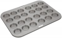 Judge Bakeware 24 Cup Mini Bun Tin 4 x 1cm/1½ x ½""