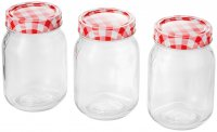 Judge Kitchen Preserving Jars 500ml (Set of 3)