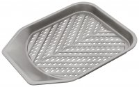 Judge Bakeware Perforated Chip Tray 28 x 28 x 2.5cm/10¾ x 11 x 1""