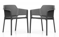 Nardi High Range Net Chair Anthracite Pack of 2