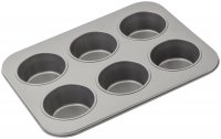 Judge Bakeware Jumbo Texas Cupcake/Muffin Tin 6 Cup