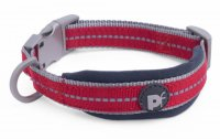 Petface Signature Padded Red Collar - Large