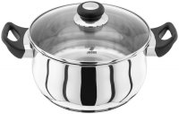 Judge Vista 18/10 Stainless Steel Casserole 24cm