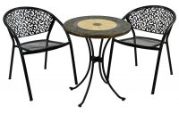 Exclusive Garden Rennes 60cm Bistro with 2 Florence Chairs