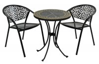 Exclusive Garden Clermont 60cm Bistro with 2 Florence Chairs