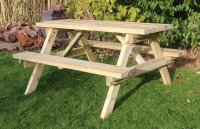 Churnet Valley Picnic Table 1500mm