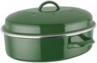 Judge Induction Oval Roaster - Green