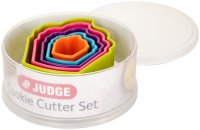 Judge Coloured Cookie Cutters - Cupcakes (Set of 5)