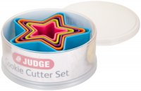 Judge Coloured Cookie Cutters - Stars (Set of 5)
