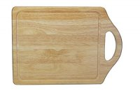 Apollo Housewares Rubberwood Handled Board 45cm x 28cm