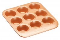 MasterClass Smart Ceramic Heavy-Duty Stackable Muffin Tin 24cm x 22cm