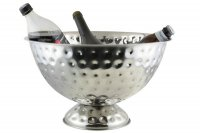 apollo housewares ss party bucket 40cm hammered