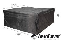 Pacific Lifestyle Lounge Set Aerocover 210 x 200 x 70cm