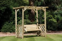 Woodshaw Hampton Swing Arbour