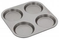 Judge Bakeware 4 Cup Yorkshire Pudding Tin 10 x 1.5cm/4 x ½""