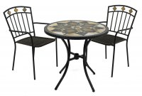 Exclusive Garden Darwin 76cm Bistro with 2 Malaga Chairs