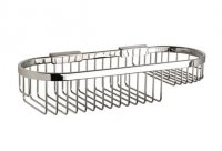 Miller Classic Oval Basket Chrome 350mm