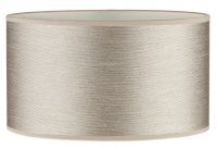 Dar Tuscan Table Lamp Strung Taupe Shade