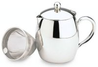 Café Stål Bellux Double Wall 32oz Stainless Steel Teapot
