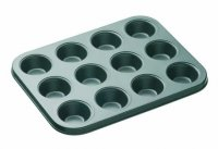 MasterClass Non-Stick Twelve Hole Mini Tart Pan