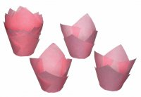 Sweetly Does It Tulip Paper Muffin Case 6cm, Pack of 100