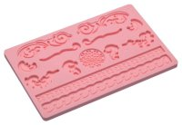 Sweetly Does It Filigree Silicone Fondant Mould, 20cm x 13cm