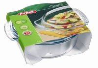 Pyrex Classic Clear Round Casserole 3.7lt