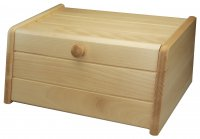 Apollo Housewares Bread Bin Drop Front 40cm