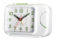 Acctim Sonnet Alarm Clock White 14cm