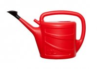 Whitefurze 10L Watering Can - Red
