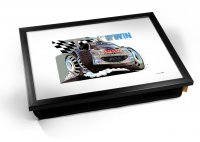 Kico Automotive Cushion 32 x 41cm Lap Tray  - 206 Rally