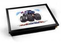 Kico Automotive Cushion 32 x 41cm Lap Tray  - Monster Truck