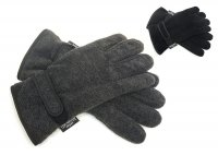Heatguard 3M Thinsulate Mens Fleece Gloves - Assorted