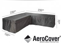 Pacific Lifestyle Lounge Set Aerocover L-Shape 235 x 235 x 70cm