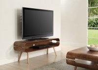 "Jual Havana TV Stand for Upto 50"" Screens in Walnut with Ash Spindle Legs"