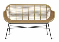 Garden Trading Hampstead Bench - All-weather Bamboo