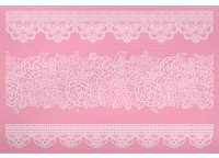 Sweetly Does It Silicone Large Lace Icing Mould 40cm x 27cm