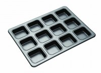 MasterClass Non-Stick 12 Hole Brownie Pan