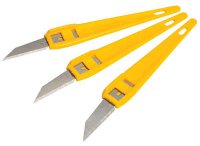Stanley Disposable Knives Pack of 3