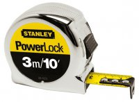 Stanley 3m / 10ft Powerlock Tape Measure