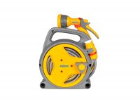 Hozelock Plus Pico Reel with 10M Hose, Fittings & Gun