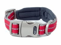 Petface Signature Padded Red Collar - Small