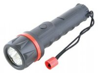 Lloytron HomeLife 2AA Rubber LED Torch